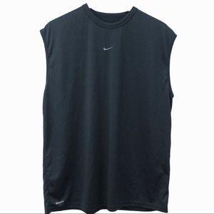 NIKE Fit Dry Sleeveless Shirt Large